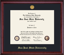 Windsor Medallion Diploma Frame