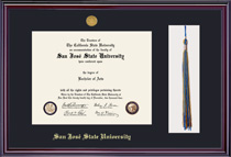 Elite Medallion Tassel Frame