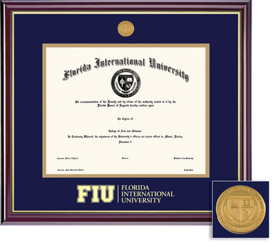 Framing Success FIU Masters And Phd Windsor Degree Frame