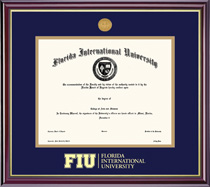 FIU Masters And Phd Windsor Degree Frame