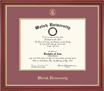 Regal MA Double Matted Diploma Frame