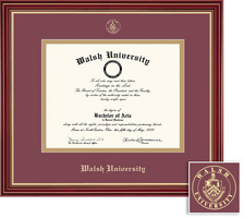 Framing Success Regal MA Double Matted Diploma Frame