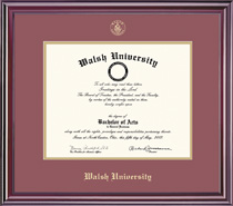 Elite MA Double Matted Diploma Frame