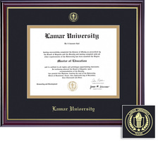 Framing Success Windsor Double Matted Diploma Frame