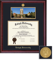 Framing Success Classic DiplomaPhoto Medallion Double Matted Diploma Frame