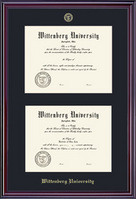 Elite Double Diploma Frame