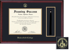 Framing Success Classic DipTassel Double Matted Diploma Frame in Burnished Cherry Finish