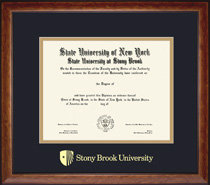 Lansdowne Double Matted Diploma Frame in a Birdseye Maple with Black trim