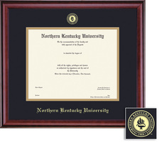 Framing Success Classic PhD Diploma Frame in Burnished Cherry Finish