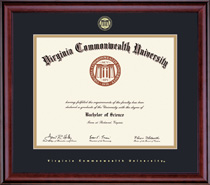 Classic Diploma Frame, in a Burnished Cherry Finish