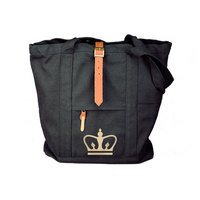 Leather Buckle Tote