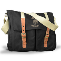 Leather Buckle Messenger
