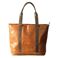 TwoTone Leather Tote (Online Only)