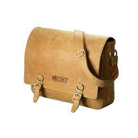 Web Hunter Leather Messenger Bag (Online Only)