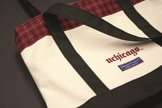 UChicago Uncommon Collection Tartan Tote Bag