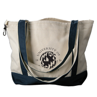 University of Maryland Carolina Sewn Medium Canvas Tote