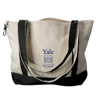 Yale Bulldogs Carolina Sewn Medium Canvas Tote
