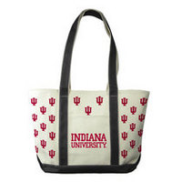 Indiana Hoosiers Carolina Sewn Medium Canvas Tote