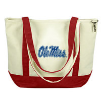 Ole Miss Carolina Sewn Medium Canvas Tote