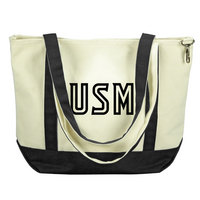 Southern Mississippi Eagles Carolina Sewn Medium Canvas Tote