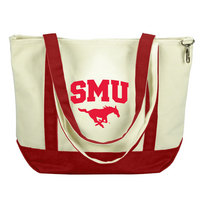 SMU Mustangs Carolina Sewn Medium Canvas Tote