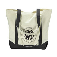 University of Maryland Carolina Sewn Large Canvas Tote