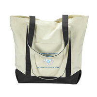 Columbia University Carolina Sewn Large Canvas Tote