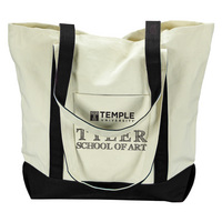 Temple Carolina Sewn Large Canvas Tote