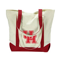 Houston Cougars Carolina Sewn Large Canvas Tote