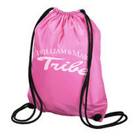 William and Mary Carolina Sewn String Backpack