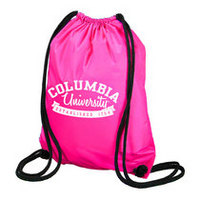 Columbia University Carolina Sewn String Backpack