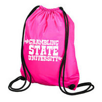 Grambling State Tigers Carolina Sewn String Backpack