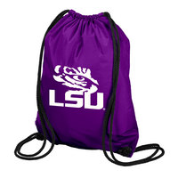 LSU Tigers Carolina Sewn String Backpack