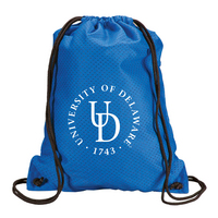 Delaware Blue Hens Carolina Sewn Jersey Mesh Backpack