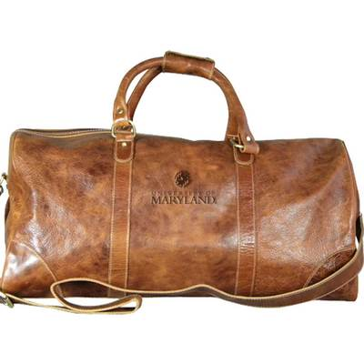 Large Leather Duffel