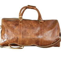 Large Leather Duffel (Online Only)
