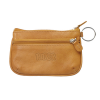 Leather Coin Case ID Holder