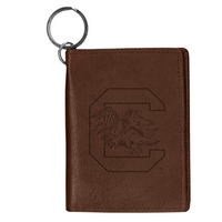 South Carolina Gamecocks Carolina Sewn Leather ID Holder