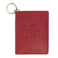 Houston Cougars Carolina Sewn Leather ID Holder