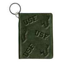 South Florida Bulls Carolina Sewn Leather ID Holder