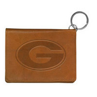 Grambling State Tigers Carolina Sewn Leather ID Holder