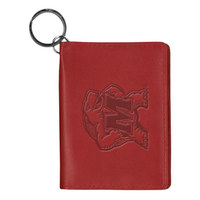 University of Maryland Carolina Sewn Leather ID Holder