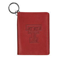Texas Tech Red Raiders Carolina Sewn Leather ID Holder