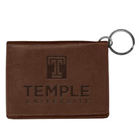 Temple Carolina Sewn Leather ID Holder