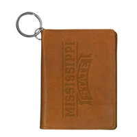 Mississippi State Bulldogs Carolina Sewn Leather ID Holder