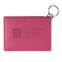 Leather Snap ID Holder