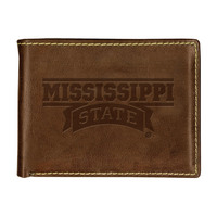 Mississippi State Bulldogs Contrast Stitch Billfold Wallet