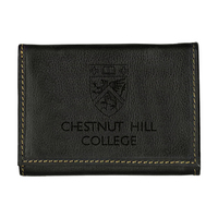 Contrast Stitch Trifold Wallet
