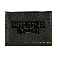 Mississippi State Bulldogs Contrast Stitch Trifold Wallet