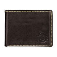 Ohio State Buckeyes Contrast Stitch Trifold Wallet